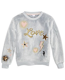 Big Girls Love Fleece Sweatshirt, Created For Macy's