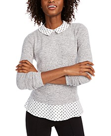 Layered Polka Dot Top, Created for Macy's