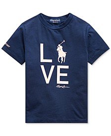 Little Boys Pink Pony Love T-Shirt