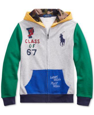 Polo Ralph Lauren Boys Zip Hoodie Sweater