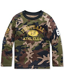 Little Boys Camo Athletic Club T-Shirt