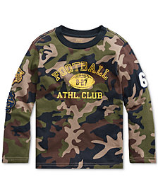 Polo Ralph Lauren Little Boys Camo Athletic Club T-Shirt