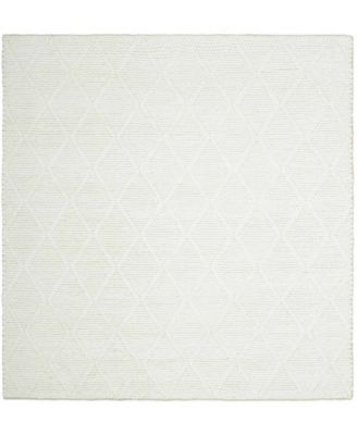 Millie LRL6310A Ivory and Ivory 6' X 6' Square Area Rug