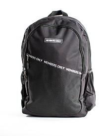 Members Only Diagonal Zip Backpack