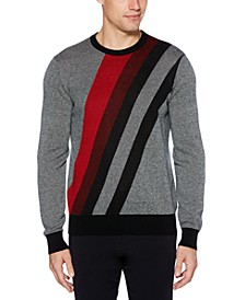 Men's Diagonal Pattern Sweater