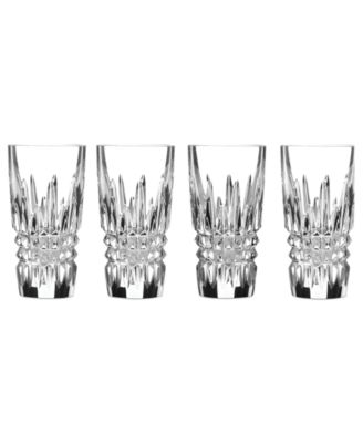Barware, Lismore Diamond Shot Glasses, Set of 4