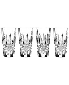 Barware, Lismore Diamond Shot Glasses, Set of 4