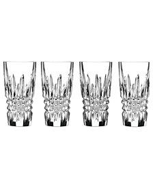 Waterford Barware, Lismore Diamond Shot Glasses, Set of 4