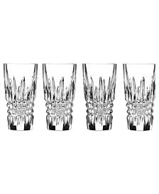 Waterford Barware, Lismore Diamond Shot Glasses, Set of 4