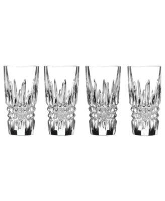 Beautiful Waterford Barware, Lismore Diamond Shot Glasses, Set Of 4