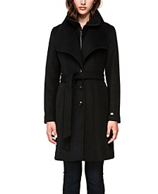 Belted Single Breasted Coat, Created for Macy's