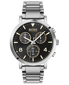 Men's Chronograph Spirit Stainless Steel Bracelet Watch 41mm
