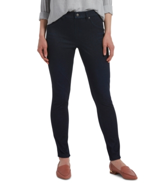 Hue Pants WOMEN'S HIGH-WAISTED DENIM LEGGINGS