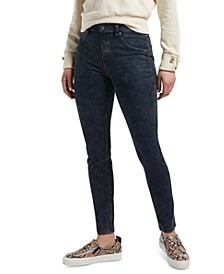 Women's High-Waisted Denim Leggings
