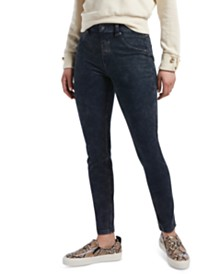 HUE® Women's High-Waisted Denim Leggings