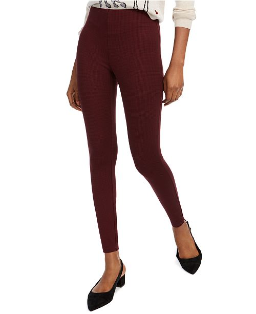 Maison Jules Pull-On Dot Print Pants, Created for Macy's
