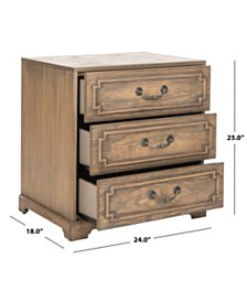 Giana 3 Drawer Nightstand, Quick Ship