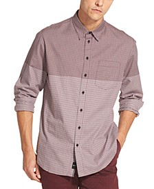Men's Two Tone Gingham Shirt