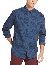 DKNY Men's Floral Shirt