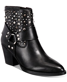 Pia Studded Western Booties