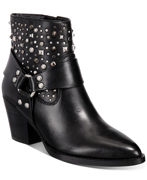 COACH Pia Studded Western Booties