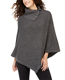 Shaker Poncho with MK Dome Buttons