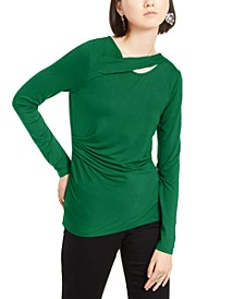 INC Twist-Neck Top, Created for Macy's