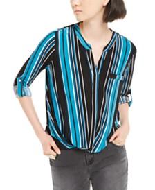 I.N.C. Split-Neck Top, Created for Macy's
