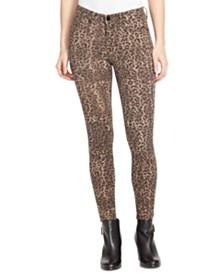 WILLIAM RAST Perfect Animal-Print Skinny Jeans
