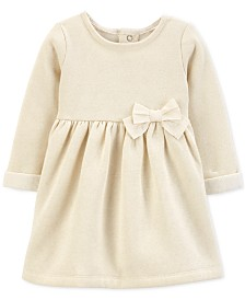 Carter's Baby Girls Go Bow Fleece Dress