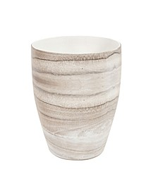 Desert Sands Tapered Ceramic Vase, Small