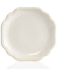 Dinnerware, French Perle Bead White Salad Plate