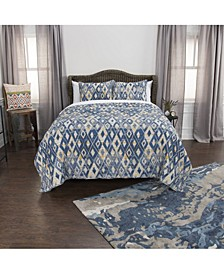 Riztex USA Asher Queen 3 Piece Quilt Set