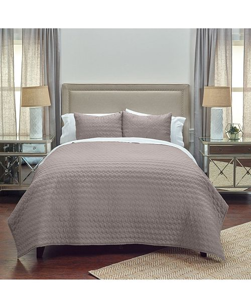 Rizzy Home Riztex USA Urban Mesh Twin XL Quilt