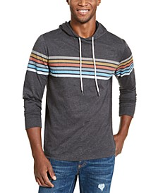 Men's Chest Stripe Hoodie, Created For Macy's