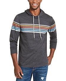 American Rag Men's Chest Stripe Hoodie, Created For Macy's