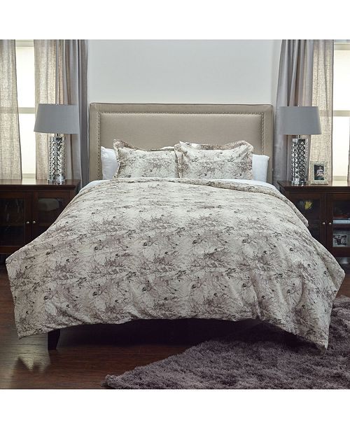 Riztex USA Vintage Butterfly King 3 Piece Comforter Set