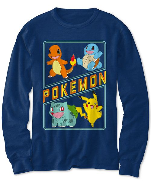 Pokemon Pokémon Little Boys Main 4 Squad T-Shirt