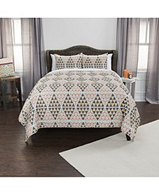 Riztex USA Tommy Queen 3 Piece Quilt Set
