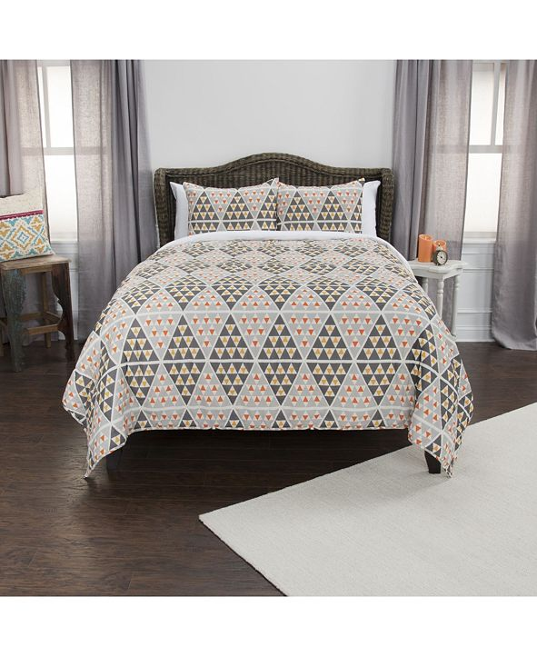 Rizzy Home Riztex USA Tommy Queen 3 Piece Quilt Set