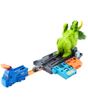 Closeout! Hot Wheels Smashin' Triceratops Play Set