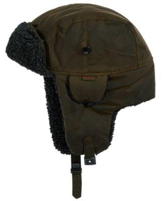 barbour mens hats