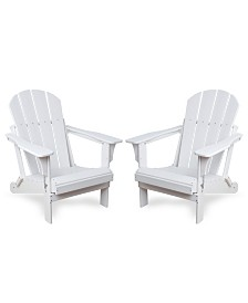 Westin Furniture Outdoor Adirondack Chair, Set of 2