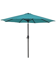 9' Patio Table Umbrella with Tilt and Crank