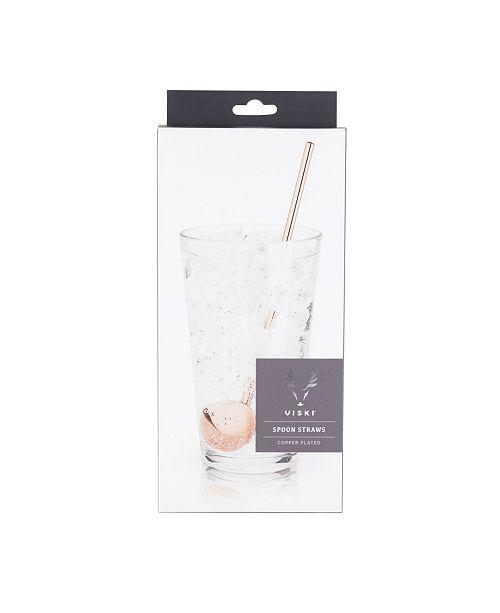 Viski Summit Julep Spoon Straw