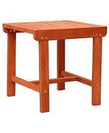 Malibu Outdoor Patio Wood Side Table
