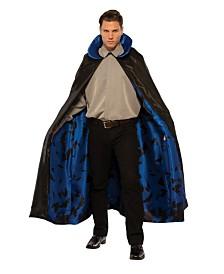 BuySeasons Men's Dark Night Blue Cape Adult Costume