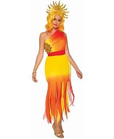 BuySeasons Women's Sun Goddess Dress Adult Costume