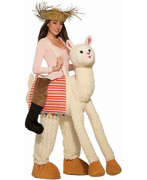 BuySeasons Ride A Llama Adult Costume