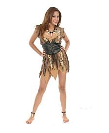 Women's Cavewoman Tan Adult Costume